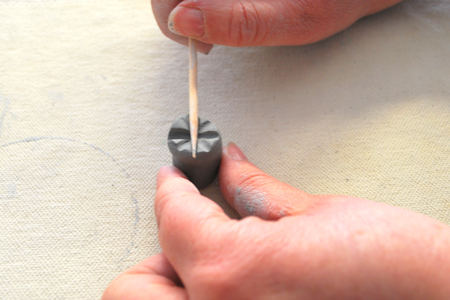 how to make stamp at home